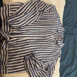 Pin striped dress shirt